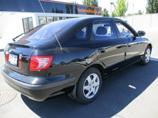 2005 Hyundai Elantra XD MY05 FX Black 4 Speed Automatic Hatchback.