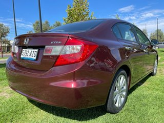 2012 Honda Civic 9th Gen Ser II VTi-LN Red 5 Speed Sports Automatic Sedan