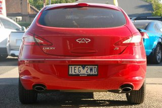 2014 Chery J3 M1X Red 5 Speed Manual Hatchback
