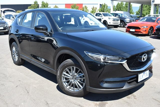 Used Mazda CX-5 KE1072 Maxx SKYACTIV-Drive FWD Sport Essendon Fields, 2017 Mazda CX-5 KE1072 Maxx SKYACTIV-Drive FWD Sport Black 6 Speed Sports Automatic Wagon