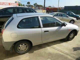 1997 Mitsubishi Mirage Silver 5 Speed Manual Hatchback
