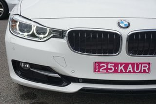 2014 BMW 3 Series F30 MY1114 320i Sport Line White 8 Speed Sports Automatic Sedan