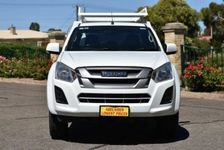 2016 Isuzu D-MAX MY17 SX Crew Cab 4x2 High Ride White 6 Speed Sports Automatic Cab Chassis