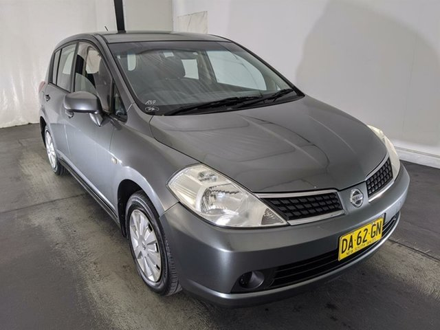 Used Nissan Tiida C11 MY07 ST Maryville, 2009 Nissan Tiida C11 MY07 ST Grey 4 Speed Automatic Hatchback