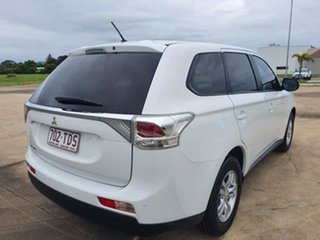 2012 Mitsubishi Outlander ZJ MY13 LS 2WD White 6 Speed Constant Variable Wagon.