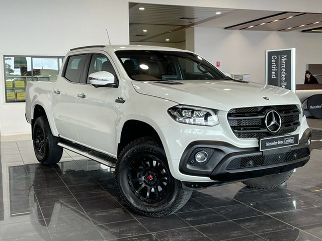 Used Mercedes-Benz X-Class 470 X350d 7G-Tronic + 4MATIC Power Hervey Bay, 2018 Mercedes-Benz X-Class 470 X350d 7G-Tronic + 4MATIC Power White 7 Speed Sports Automatic Utility