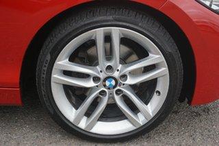 2016 BMW 1 Series F20 LCI 120i Steptronic Sport Line Red 8 Speed Sports Automatic Hatchback