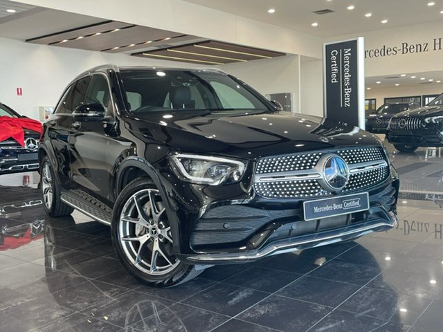 Used Mercedes-Benz GLC-Class X253 800+050MY GLC300 9G-Tronic 4MATIC Hervey Bay, 2020 Mercedes-Benz GLC-Class X253 800+050MY GLC300 9G-Tronic 4MATIC Black 9 Speed Sports Automatic
