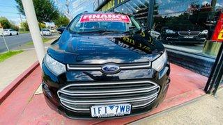 2015 Ford Ecosport BK Trend PwrShift Black 6 Speed Sports Automatic Dual Clutch Wagon