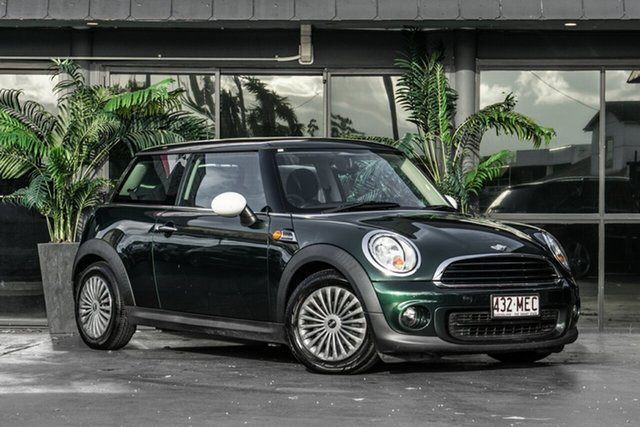Used Mini Hatch R56 LCI Cooper Steptronic Bowen Hills, 2011 Mini Hatch R56 LCI Cooper Steptronic Green 6 Speed Sports Automatic Hatchback
