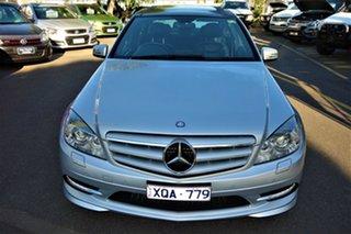 2010 Mercedes-Benz C-Class W204 MY10 C350 CDI 7G-Tronic Avantgarde Silver 7 Speed Sports Automatic
