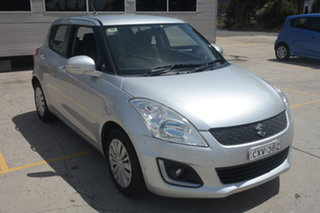 2014 Suzuki Swift FZ MY14 GL Navigator Silver 4 Speed Automatic Hatchback.