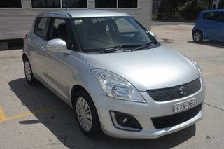 2014 Suzuki Swift FZ MY14 GL Navigator Silver 4 Speed Automatic Hatchback.