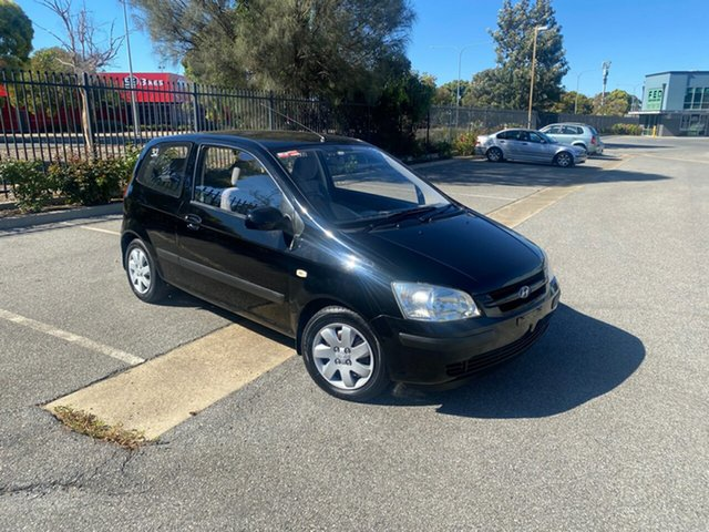 Used Hyundai Getz TB MY05 GL Mile End, 2005 Hyundai Getz TB MY05 GL Black 5 Speed Manual Hatchback