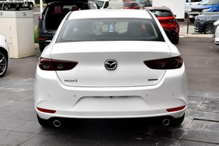 2020 Mazda 3 BP2S7A G20 SKYACTIV-Drive Pure White 6 Speed Sports Automatic Sedan.