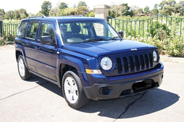 Used Jeep Patriot MK MY12 Sport (4x2) Blair Athol, 2012 Jeep Patriot MK MY12 Sport (4x2) Blue 6 Speed CVT Auto Sequential Wagon