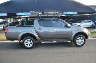 2014 Mitsubishi Triton MN MY14 Update GLX-R (4x4) Bronze 5 Speed Automatic 4x4 Double Cab Utility.