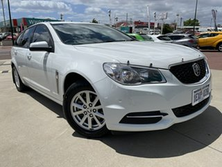 2015 Holden Commodore VF II Evoke White 6 Speed Automatic Sportswagon.