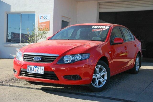 Used Ford Falcon FG XT (LPG) Wendouree, 2008 Ford Falcon FG XT (LPG) Red 4 Speed Auto Seq Sportshift Sedan
