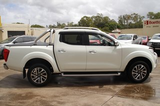 2017 Nissan Navara D23 S2 ST-X White Diamond 7 Speed Sports Automatic Utility.
