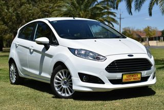 2017 Ford Fiesta WZ Sport PwrShift White 6 Speed Sports Automatic Dual Clutch Hatchback.