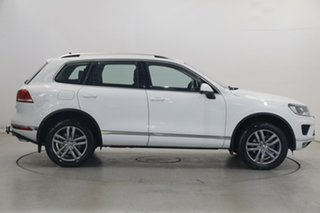 2017 Volkswagen Touareg 7P MY17 V6 TDI Tiptronic 4MOTION Adventure White 8 Speed Sports Automatic