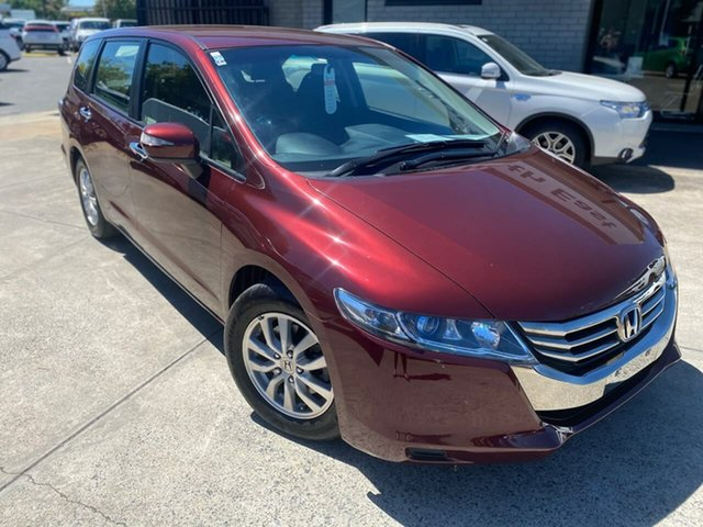 Used Honda Odyssey 4th Gen MY13 Hillcrest, 2013 Honda Odyssey 4th Gen MY13 Red 5 Speed Sports Automatic Wagon