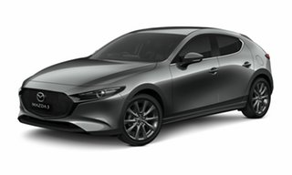 2020 Mazda 3 BP2HLA G25 SKYACTIV-Drive GT Machine Grey 6 Speed Sports Automatic Hatchback.