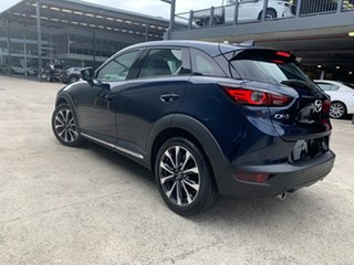 2020 Mazda CX-3 DK2W7A Akari SKYACTIV-Drive FWD Deep Crystal Blue 6 Speed Sports Automatic Wagon