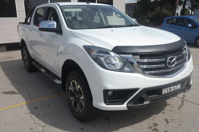 Used Mazda BT-50 UR0YG1 XTR Maryville, 2018 Mazda BT-50 UR0YG1 XTR White 6 Speed Sports Automatic Utility