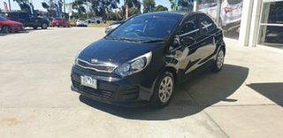 2015 Kia Rio UB MY15 S Black 4 Speed Sports Automatic Hatchback