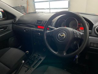 2008 Mazda 3 BK MY08 Maxx Sport Red 5 Speed Manual Sedan