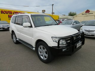 2007 Mitsubishi Pajero NS VR-X LWB (4x4) White 5 Speed Auto Sports Mode Wagon.