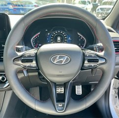 2020 Hyundai i30 PD.V4 MY21 N Line Premium Polar White 7 Speed Auto Dual Clutch Hatchback