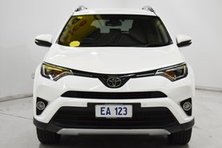 2017 Toyota RAV4 ASA44R GXL AWD White 6 Speed Sports Automatic Wagon.