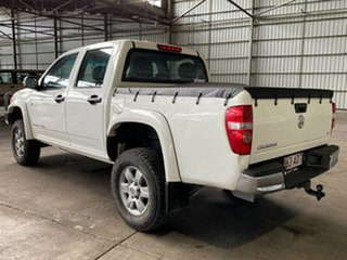 2010 Holden Colorado RC MY10 LX Crew Cab White 4 Speed Automatic Utility
