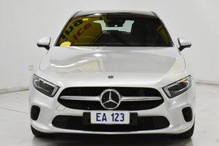 2018 Mercedes-Benz A-Class W177 A200 DCT Silver 7 Speed Sports Automatic Dual Clutch Hatchback.