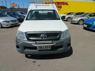 2009 Toyota Hilux TGN16R 09 Upgrade Workmate White 5 Speed Manual Cab Chassis.