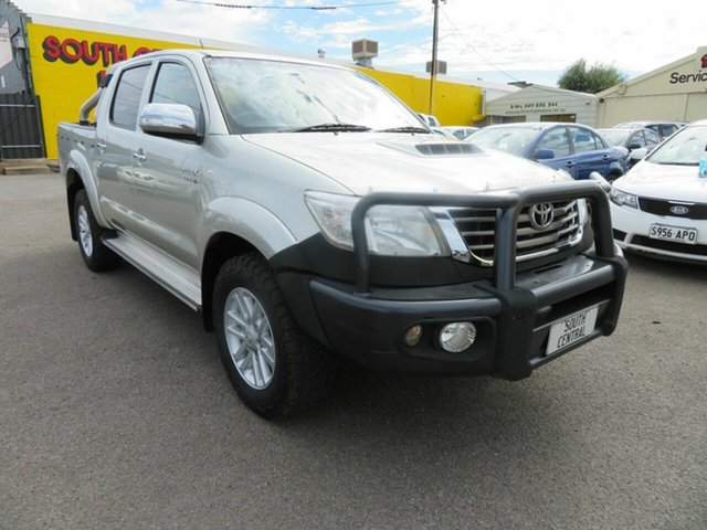 Used Toyota Hilux KUN26R MY12 SR5 (4x4) Morphett Vale, 2013 Toyota Hilux KUN26R MY12 SR5 (4x4) Gold 5 Speed Manual Dual Cab Pick-up