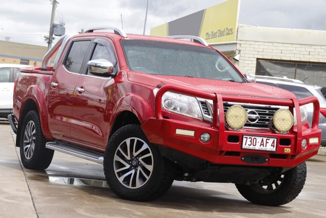 Used Nissan Navara D23 ST-X Bundamba, 2015 Nissan Navara D23 ST-X Red 7 Speed Sports Automatic Utility