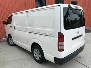 2011 Toyota HiAce TRH201R MY11 LWB White 4 Speed Automatic Van.