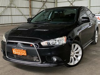 2008 Mitsubishi Lancer CJ MY09 Ralliart TC-SST Black 6 Speed Sports Automatic Dual Clutch Sedan.
