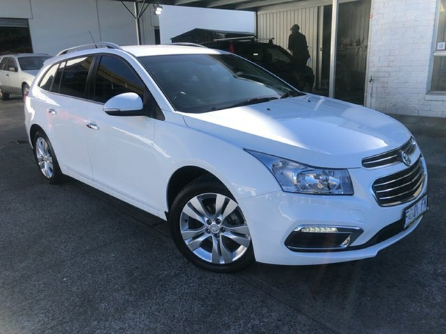 Used Holden Cruze JH Series II MY16 CDX Sportwagon Derwent Park, 2016 Holden Cruze JH Series II MY16 CDX Sportwagon Summit White 6 Speed Sports Automatic Wagon