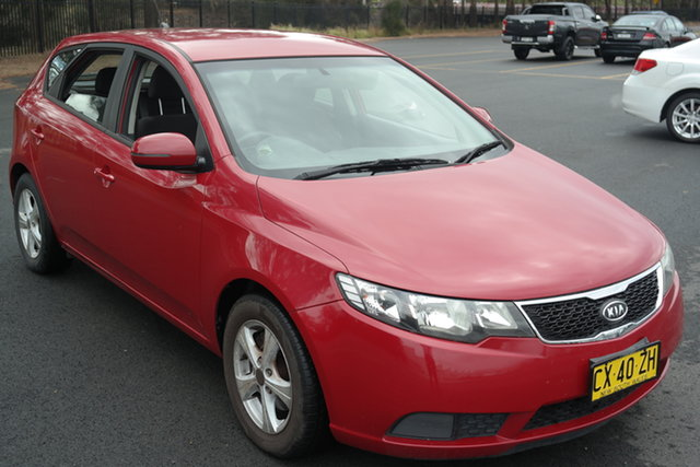 Used Kia Cerato TD MY12 S Maryville, 2012 Kia Cerato TD MY12 S Red 6 Speed Sports Automatic Hatchback