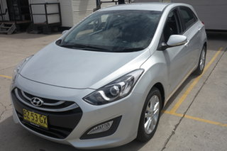 2013 Hyundai i30 GD2 MY14 Trophy Silver 6 Speed Sports Automatic Hatchback.