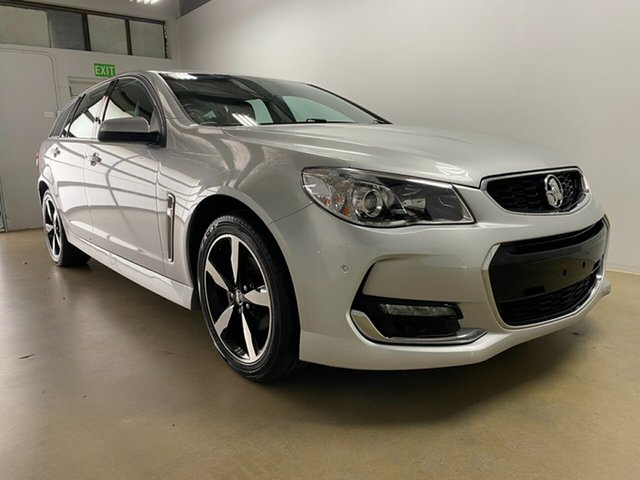 Used Holden Commodore VF II MY17 SV6 Phillip, 2017 Holden Commodore VF II MY17 SV6 Silver 6 Speed Automatic Sportswagon
