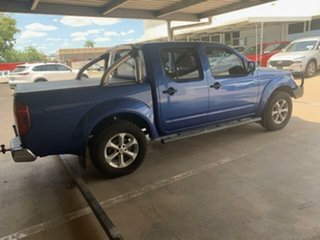 2012 Nissan Navara D40 Series 4 ST-X (4x4) Blue 6 Speed Manual Dual Cab Pick-up