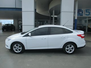 2015 Ford Focus LW MK2 MY14 Trend White 6 Speed Automatic Sedan.