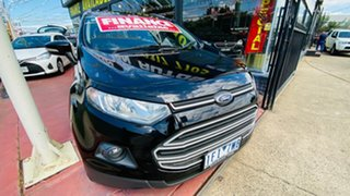 2015 Ford Ecosport BK Trend PwrShift Black 6 Speed Sports Automatic Dual Clutch Wagon.