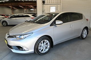 2016 Toyota Corolla ZRE182R Ascent Sport S-CVT Silver 7 Speed Constant Variable Hatchback
